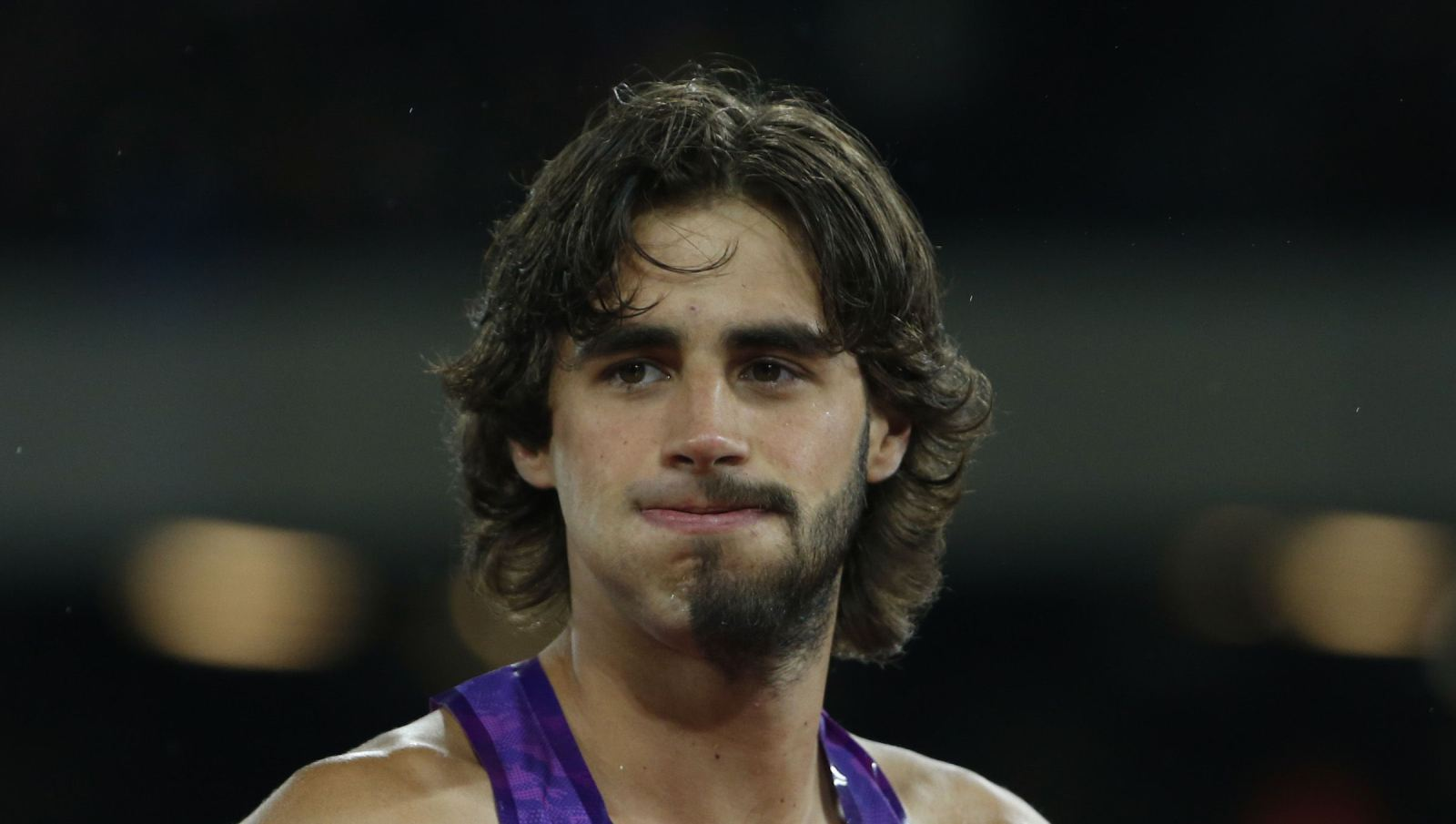 "Attention hipsters: An Italian high-jumper is pioneering the ""half beard"" look - Quartz"